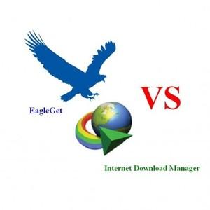 Internet Download Manager VS EagleGet