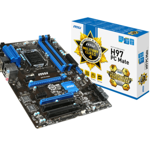 Review Motherboard MSI H97 PC Mate: Motherboard Murah Untuk Gaming