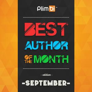 Top Author Plimbi Bulan September