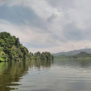 Wisata Ke Situ Lengkong Panjalu, Danau yang Punya Pulau Kecil di Tengahnya