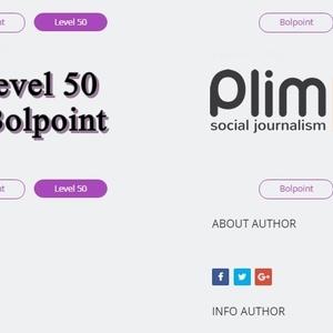 Selamat untuk Author Plimbi Pertama yang Mencapai Level 50
