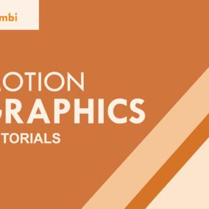 Tutorial Cara Bikin Animasi Motion Graphic Yang Sangat Mudah
