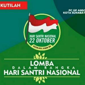 """Dibuka """"Duel"""" Dua Ketua, Ini Jadwal Hari Santri GP Ansor Surabaya"""