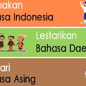 Bahasa Indonesia, Asing di Negerinya Sendiri