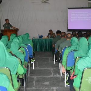 Dandim 0815 Tegaskan Netralitas TNI Tidak Bisa Ditawar