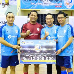 GMedia Selenggarakan Futsal Antar Perusahaan Semarang