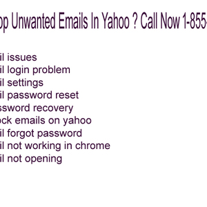 How To Stop Unwanted Emails In Yahoo ? Call Now 1-855-654-1777