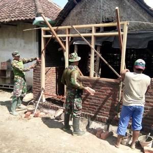 Maksimalkan Pencapaian Renovasi RTLH Kodim 0815 Mojokerto Bentuk Timwas