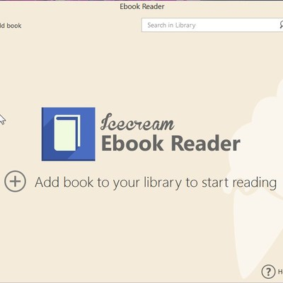 Review Program Pembaca Ebook IceCream Ebook Reader