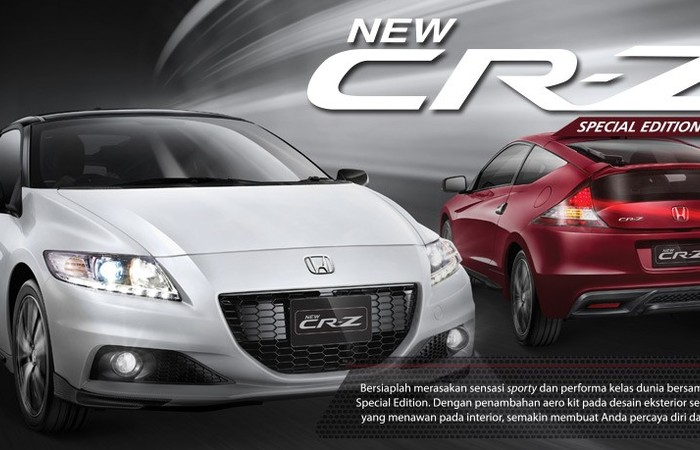 New Honda CR-Z Bawa Angin Segar
