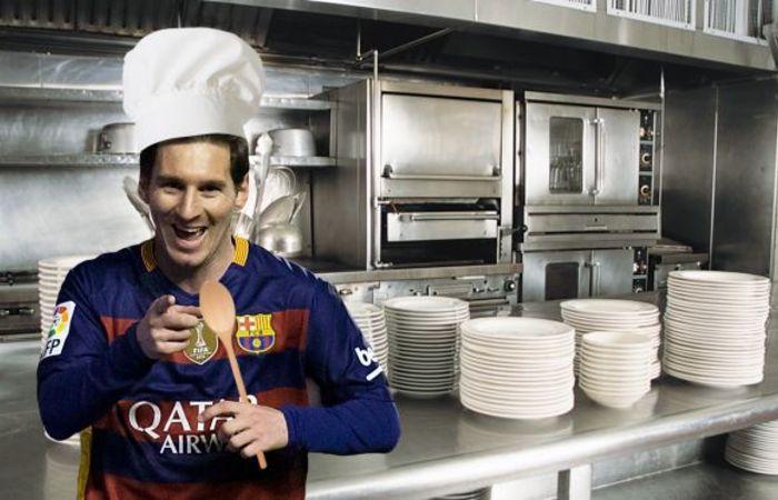 Lionel Messi akan membuka restaurant di Pusat kota Barcelona