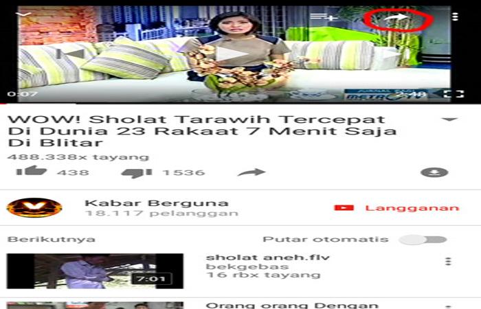 Tips Singkat Cara Download Youtube Di Android Tanpa Aplikasi