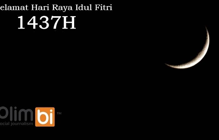 Plimbi Mengucapkan Selamat Hari Raya Idul Fitri 1437 Hijriah