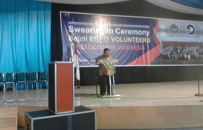54 Relawan Peace Corps Indonesia Asal USA Secara Resmi Di Wisuda
