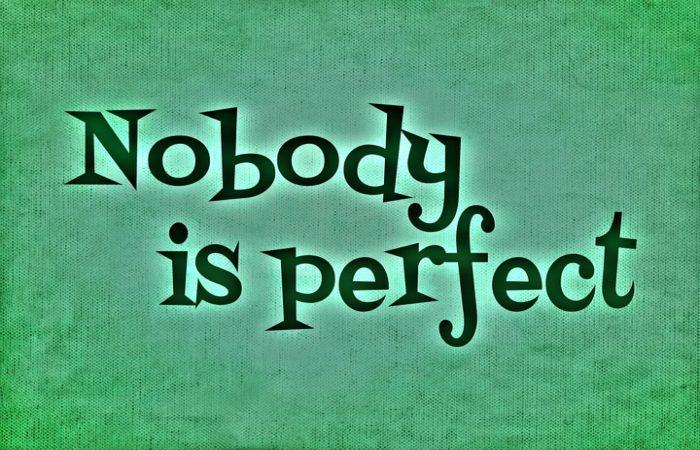 """Karena """"Kesempurnaan"""" Adalah Dosa?"""