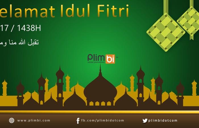 Takbir Sudah Berkumandang! Selamat Idul Fitri 1438H