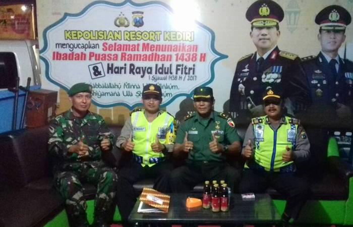 Road To Lebaran Bersama TNI dan Polri Di Kediri