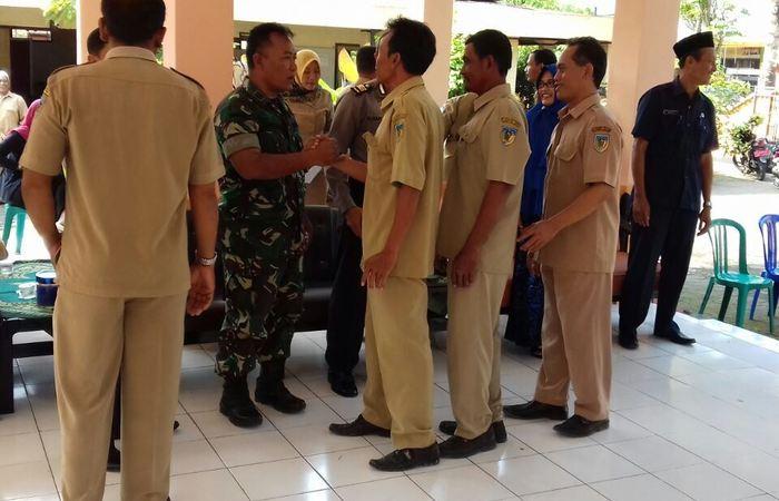 Silaturahmi Dalam halal Bihalal Bersama Muspika Papar Kediri