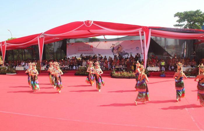 Pentas Sejuta Aksi Dalam Pekan Budaya Dan Pariwisata Kediri