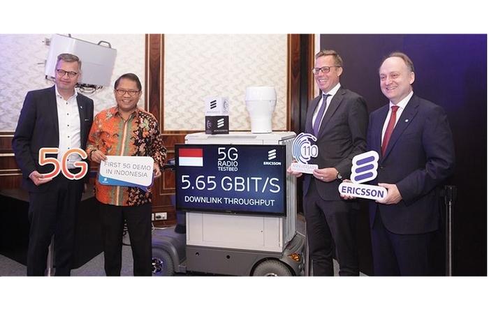 Ericsson Gelar Demo 5G di Indonesia, Kecepatannya hingga 5Gbps!