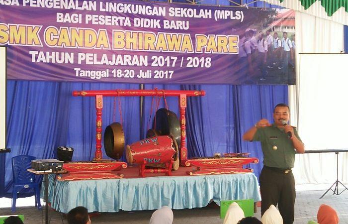 Danramil Pare : Manusia Indonesia Adalah Manusia Pancasilais