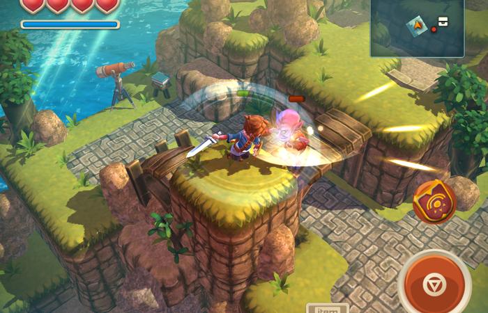 Oceanhorn Permainan Bertualangan Melawan Monster