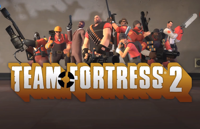 Team Fortress 2, Game FPS bergaya Kartun