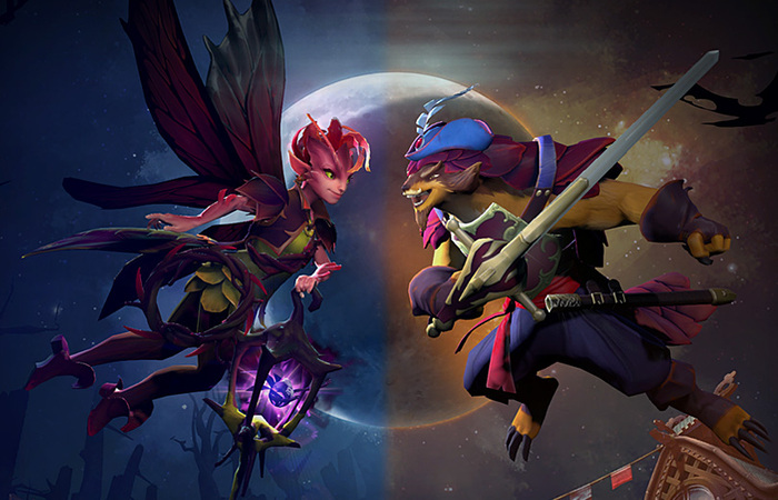 Update terbaru dota 2 , The dueling fates
