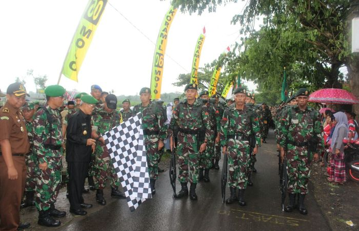 Ceremonial Serah Terima Tonting On Road Kediri