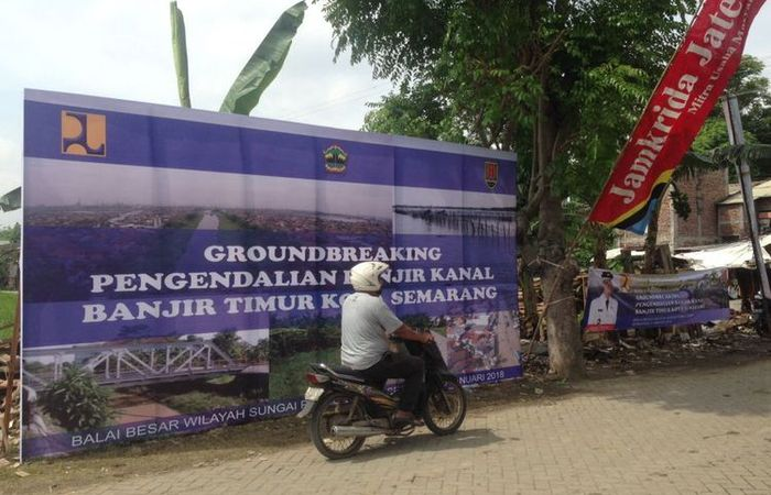 Gubernur Provinsi Jawa Tengah Resmikan Proyek Normalisasi