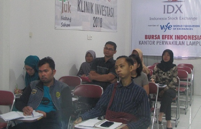 Training Analisis Teknikal dan Fundamental di Lampung