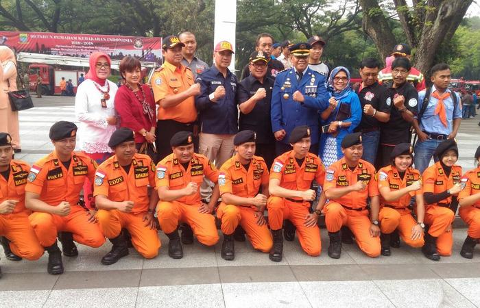 Peringatan HUT Dinas Pemadam Kebakaran Berlangsung Meriah