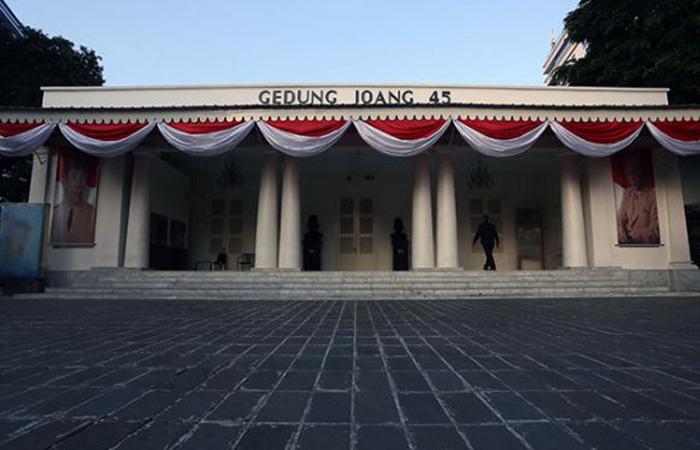 Museum Gedung Joang 45, Saksi Bisu Sejarah indonesia Tahun 1945