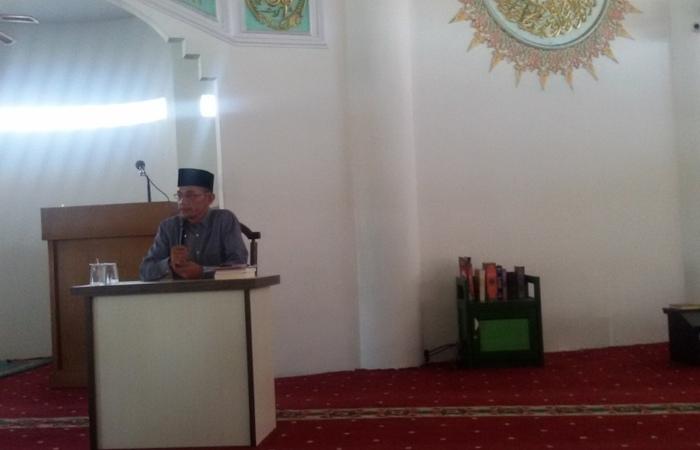 Komunitas  Lingkar Peradaban Undang Tengku Zulkifli Usman Isi Kajian Kuliah Dhuha