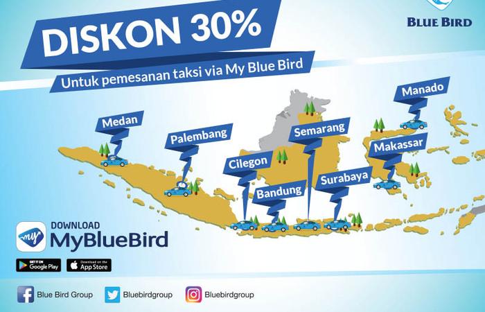 My Blue Bird Cara Mudah Order Taksi Online