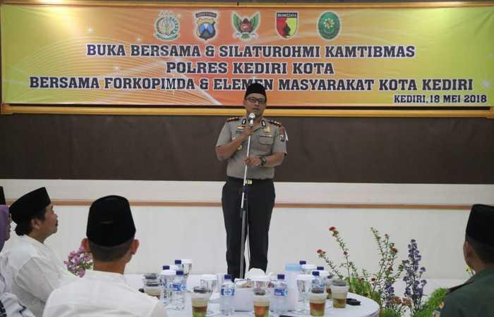 Forkopimda Kediri Buka Puasa Bersama Diawal Bulan Ramadhan