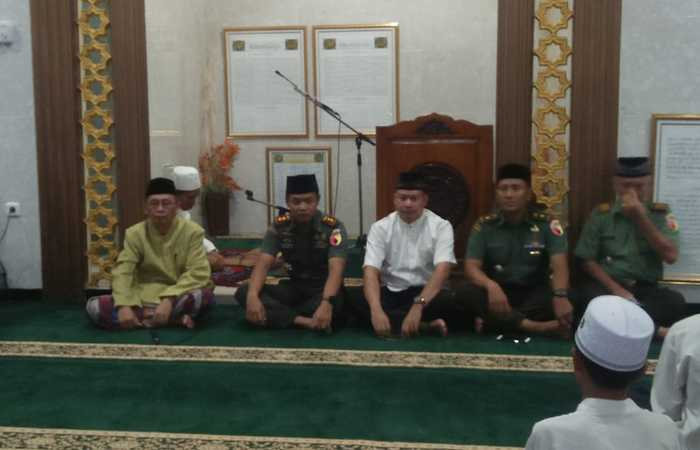 Dandim 0815 Mojokerto Silaturahmi Di Ponpes Husnul Hidayah