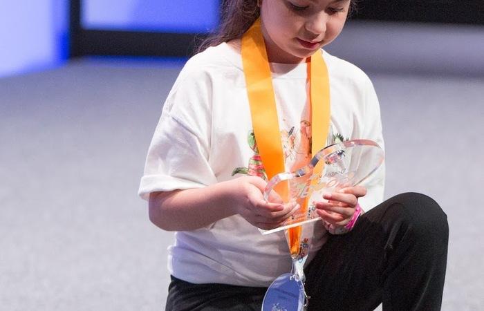 Gadis 7 Tahun Memenangkan Kompetisi Doodle 4 Google