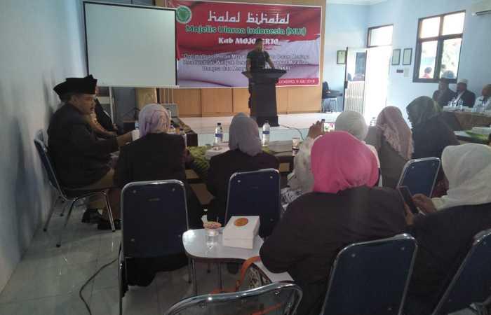 Dandim 0815 Hadir Di Acara Halal Bihalal MUI Kabupaten Mojokerto
