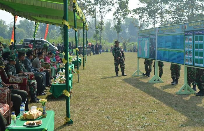 Komandan SSK Paparkan Sasaran TMMD Ke-102 Di Mojokerto