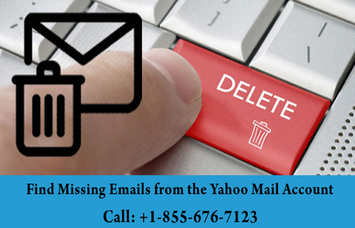 Find Missing Emails from the Yahoo Mail Account