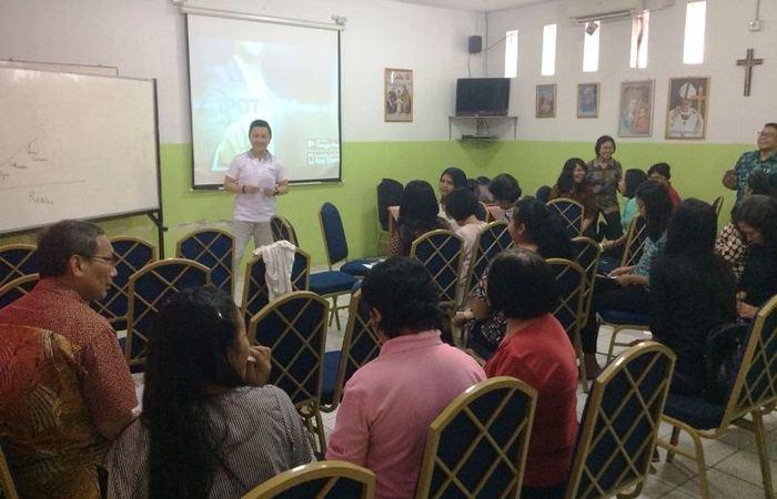 IPOTPAY Edukasi Guru-guru SD Strada Tanjung Priok