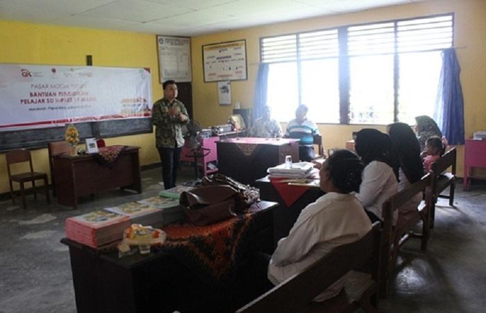 Guru-guru SD Inpres 19 Masni di Manokwari Belajar Saham dan Reksadana