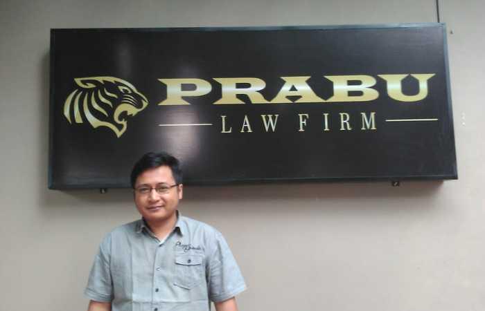 Sopiadi S.H : PRABU Law Firm  ini bisa di ibarat kan sebagai Ujung tombak dari LSM PRABU