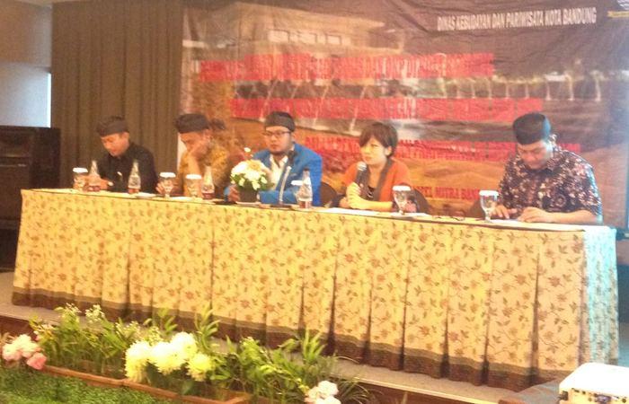 Disbudpar Kota Bandung dengan stakeholders-nya menjalin komunikasi dalam rangka menyamakan persepsi di bidang wisata