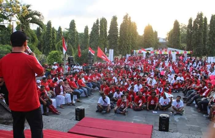 Generasi Millenial Hadiri Deklarasi GARBI Bali