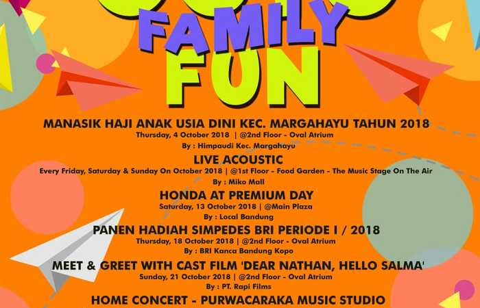 Event Octo Family Fun 2018 Di Miko Mall