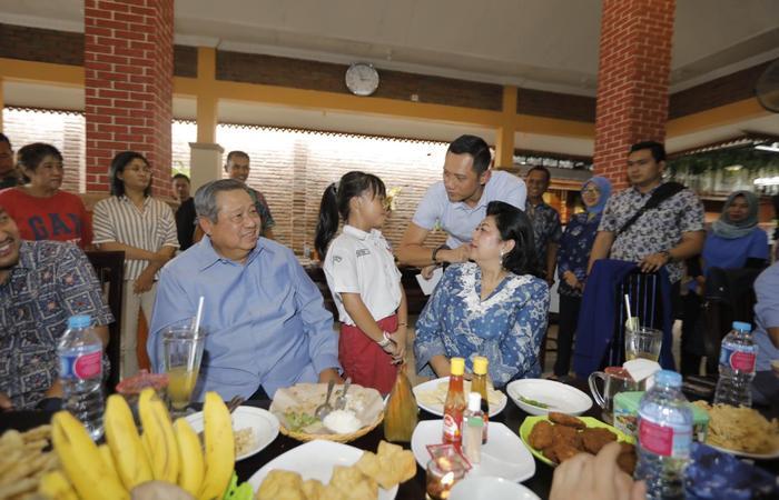Kebersamaan SBY dan Masyarakat Solo