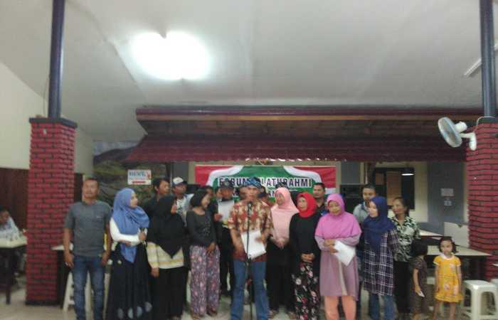 Forum  Silaturahmi Warga Bandung Menolak Berita HOAX , Politik SARA , Ujaran Kebencian, dan Kampanye Hitam Menjelang Pemilu dan PILPRES 2019