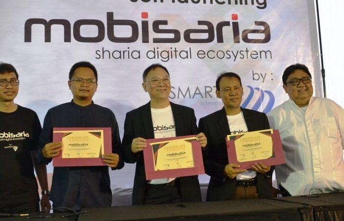 Bandung Jadi Lokasi Pertama Launching Aplikasi Mobisaria Baitul Maal Wat Tamsil